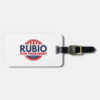 Rubio For President Luggage Tag