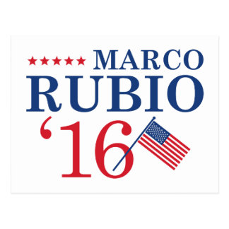 Rubio For President Postcard