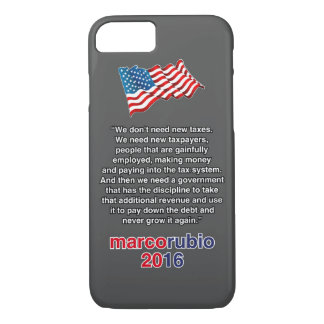 RUBIO NEW TAXES iPhone 7 CASE