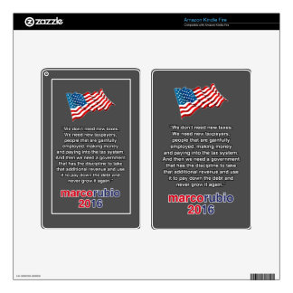 RUBIO NEW TAXES KINDLE FIRE DECALS