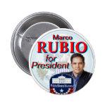 Rubio para el botón del presidente gran sello pins