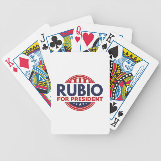 Rubio para el presidente barajas