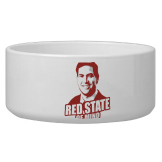 RUBIO RED STATE OF MIND -.png Pet Food Bowl