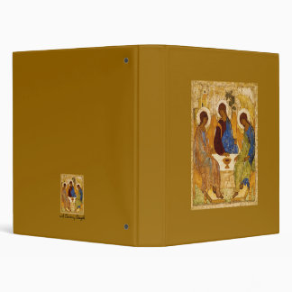 Rublev Trinity at the Table Binder