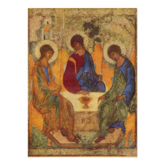 Rublev Trinity at the Table Card
