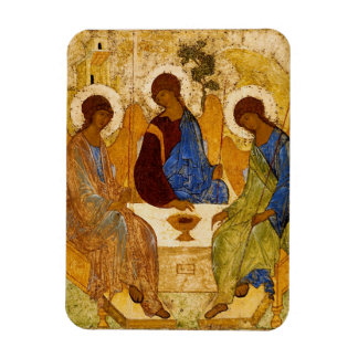 Rublev Trinity at the Table Magnet