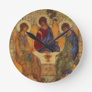 Rublev Trinity at the Table Round Clock