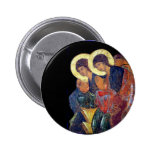 Rublev's Angels Pinback Buttons