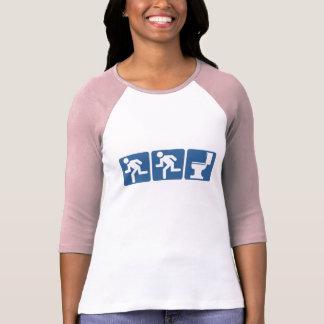 Rubor del Corredor-Corredor Camiseta