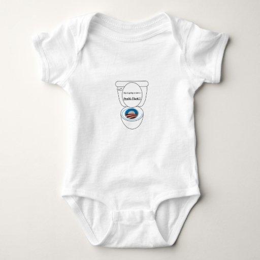 Rubor del doble body para bebé