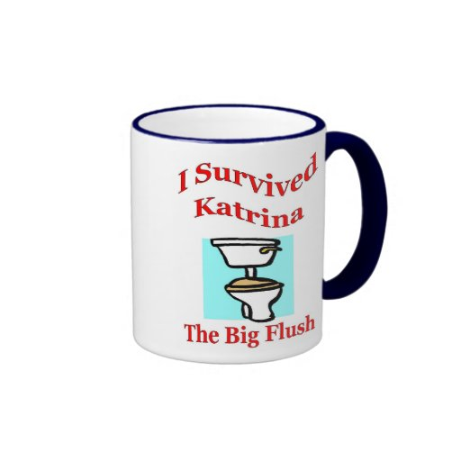 Rubor grande taza a dos colores