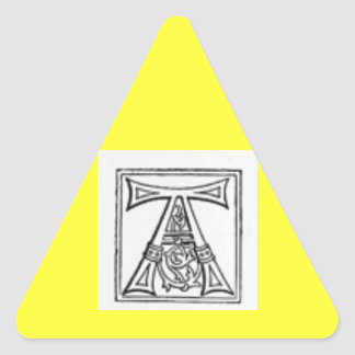 Rubrique A Pegatina Triangular