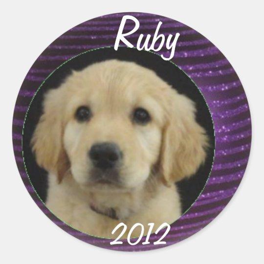 Ruby 2012 Sticker Sheet