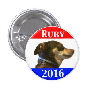 Ruby 2016 1 inch round button