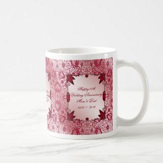 Ruby 40th Wedding Anniversary Coffee Mug