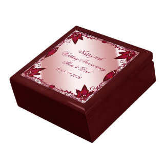 Ruby 40th Wedding Anniversary Gift Box