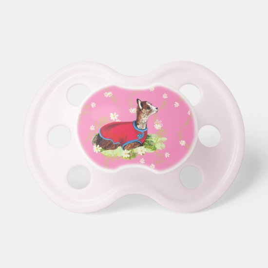 Ruby Alpaca Pacifier for Girl
