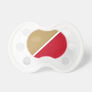 Ruby and Gold Chad Pacifier