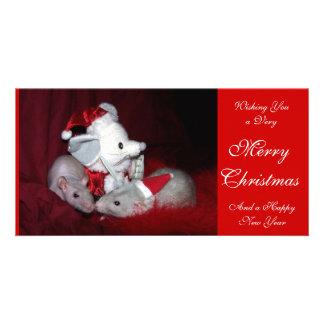 Ruby and Lydia Holiday Photo Card B