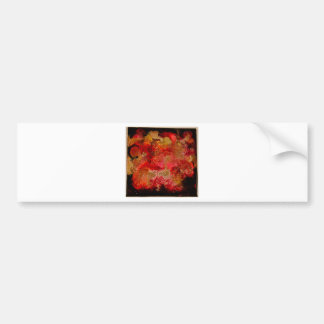 Ruby and Onyx Geode Collection Bumper Sticker