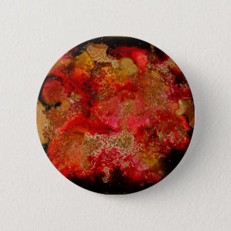 Ruby and Onyx Geode Collection Pinback Button
