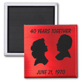 RUBY ANNIVERSARY-MAGNET MAGNET