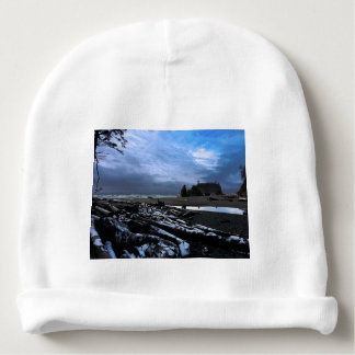 Ruby Beach in Olympic National Park Baby Beanie
