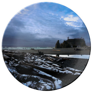 Ruby Beach in Olympic National Park Dinner Plate