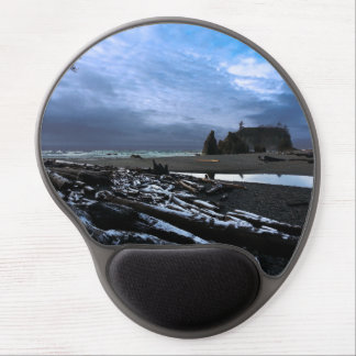 Ruby Beach in Olympic National Park Gel Mouse Pad