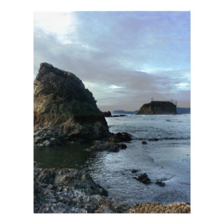 Ruby Beach in Olympic National Park Letterhead