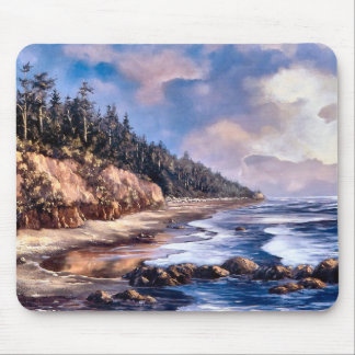 Ruby Beach Mouse Pad