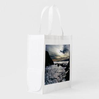Ruby Beach Olympic National Park Reusable Grocery Bag