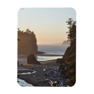 Ruby Beach on the Pacific Ocean Magnet