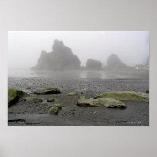 Ruby Beach, Pacific Coast - WA Poster