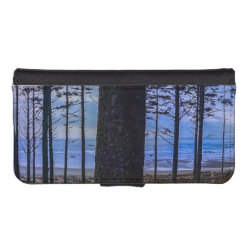 Ruby Beach sea shore iPhone SE/5/5s Wallet Case