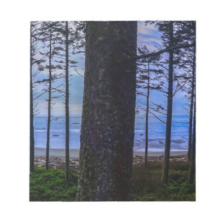Ruby Beach sea shore Notepad