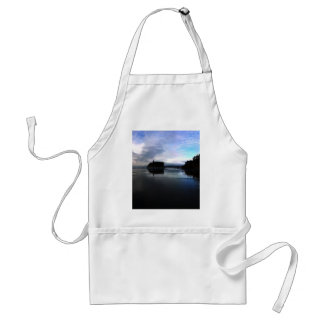 Ruby Beach Sunset Olympic National Park Adult Apron