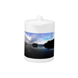 Ruby Beach Sunset Olympic National Park Teapot