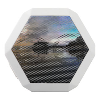 Ruby Beach Sunset | Olympic NP White Bluetooth Speaker