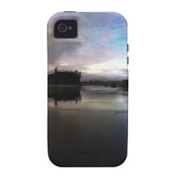 Ruby Beach Sunset Reflection iPhone 4/4S Case
