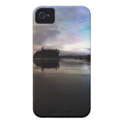 Ruby Beach Sunset Reflection iPhone 4 Case
