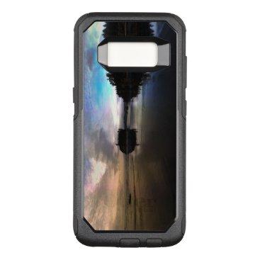 Beach Themed Ruby Beach Sunset Reflection OtterBox Commuter Samsung Galaxy S8 Case