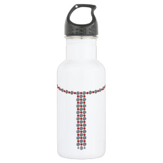 Ruby Big and Small Necklace Stainless Steel Water Bottle