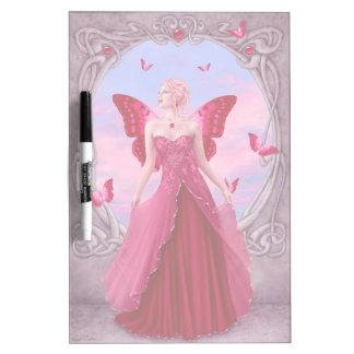 Ruby Birthstone Fairy Dry Erase Board