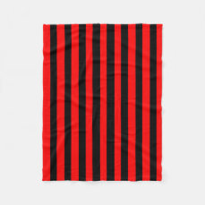 Ruby Black Fleece Blanket