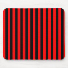 Ruby Black Mouse Pad