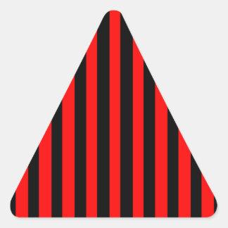 Ruby Black Triangle Sticker