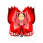 Ruby Butterfly Princess Business Card