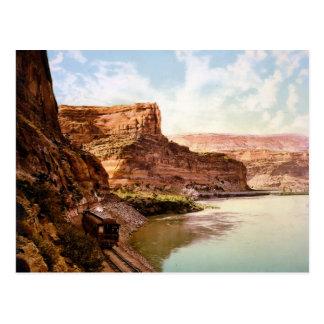 Ruby Canyon Colorado River Postcard