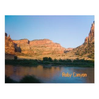 Ruby Canyon near Grand Junction, Colorado Postcard